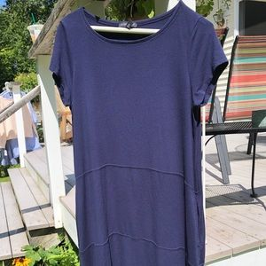 Eileen Fisher Navy T-shirt Dress